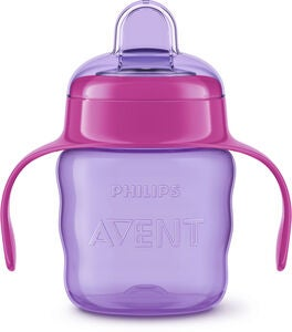 Philips Avent Classic Schnabeltasse 200 ml, Purple/Pink