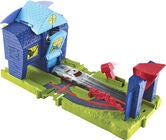 Hot Wheels City Bat Manor Attack Spielset