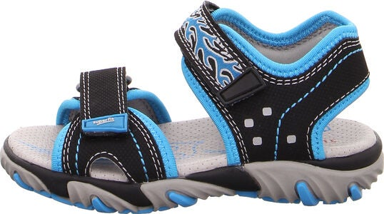 Superfit Mike2 Sandalen, Black/Blue