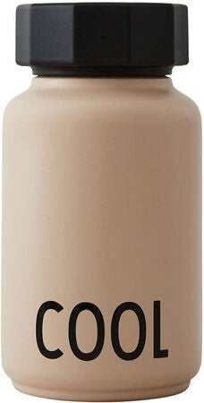 Design Letters Hot & Cold Thermosflasche 330 ml, Soft Camel