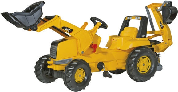 Rolly Toys Junior Traktor CAT mit Bagger