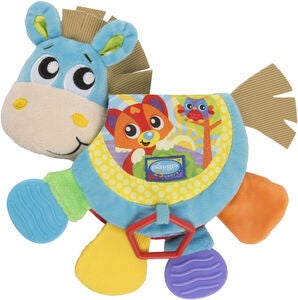 PlayGro Musical Clip Clop Teether Book Beißspielzeug