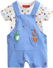 Tom Joule Hose & Body, Blue Dino Star Dungaree