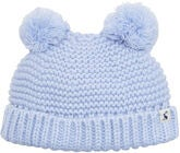 Tom Joule Double Pom Pom Mütze, Sky Blue