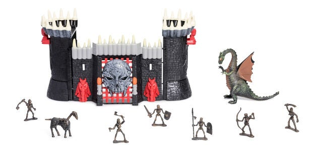 Fantasy Playworld Tomb Warrior Castle Spielset
