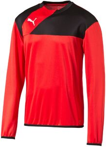 Puma Esquadra Sweat Trainingsoberteil, Rot