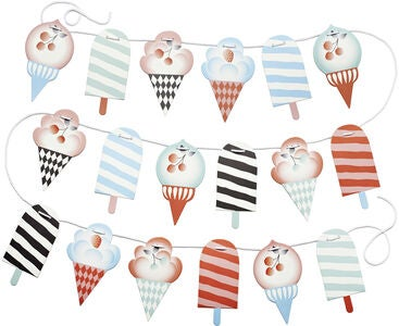 Littlephant Wimpel Ice Creams on a String