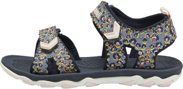 Hummel Sport Flowers Jr Sandale, Blue Nights