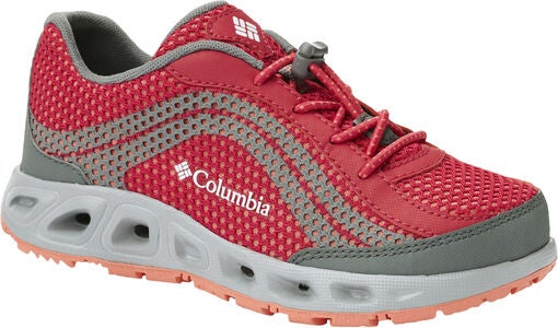 Columbia Youth Drainmaker IV Sneaker, Bright Rose/Hot Coral
