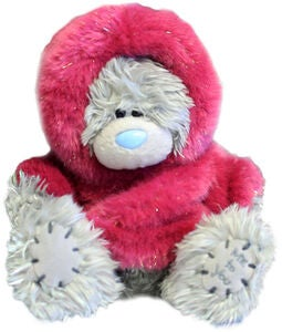 Me To You Kuscheltier Teddy Pelzkapuze 15 cm