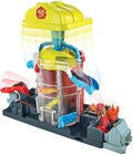 Hot Wheels City Spielset Super Fire House Rescue