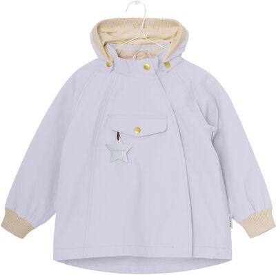 Mini A Ture Wai Regenjacke, Purple Heather