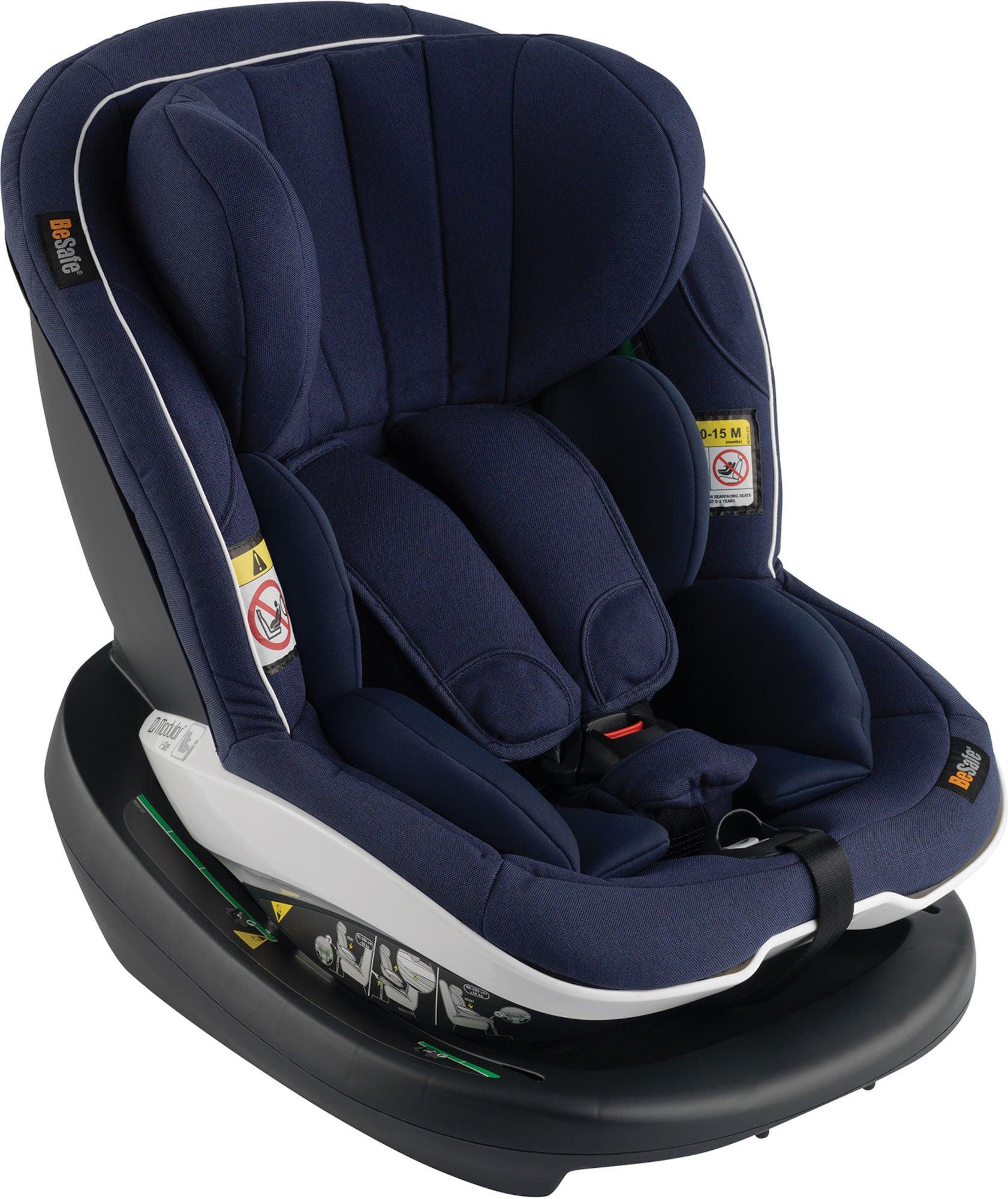 BeSafe iZi Modular i-Size Kindersitz, Navy Mélange