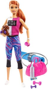 Barbie Wellness Puppe Fitness
