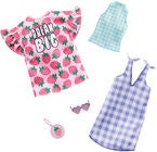 Barbie Fashions Kleider Checkers & Strawberries 2er-Pack
