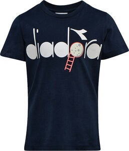 Diadora T-Shirt, Blue Corsair