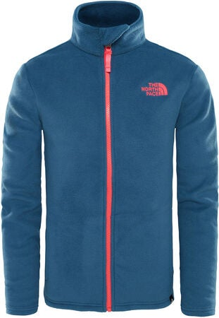 The North Face Snow Quest Full Zip Fleecejacke, Blue Wing Teal