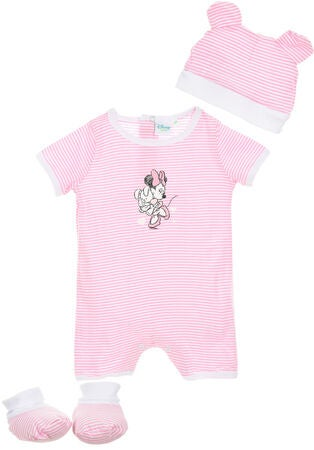 Disney Minnie Maus Set, Hellrosa
