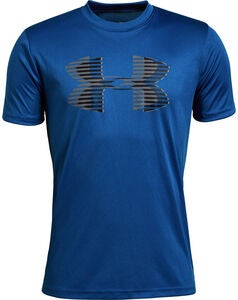 Under Armour Tech Big Logo Solid Tee, Royal