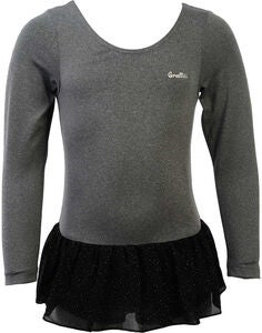 Graffiti Lacey Trainingsbody, Dark Grey Melange