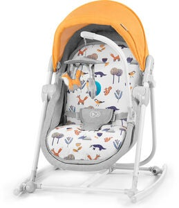 Kinderkraft 5-in-1 Unimo Babywippe 2020, forest yellow