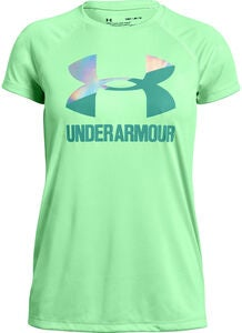 Under armour Big Logo Tee Solid SS Trainingsshirt, Green Typhoon