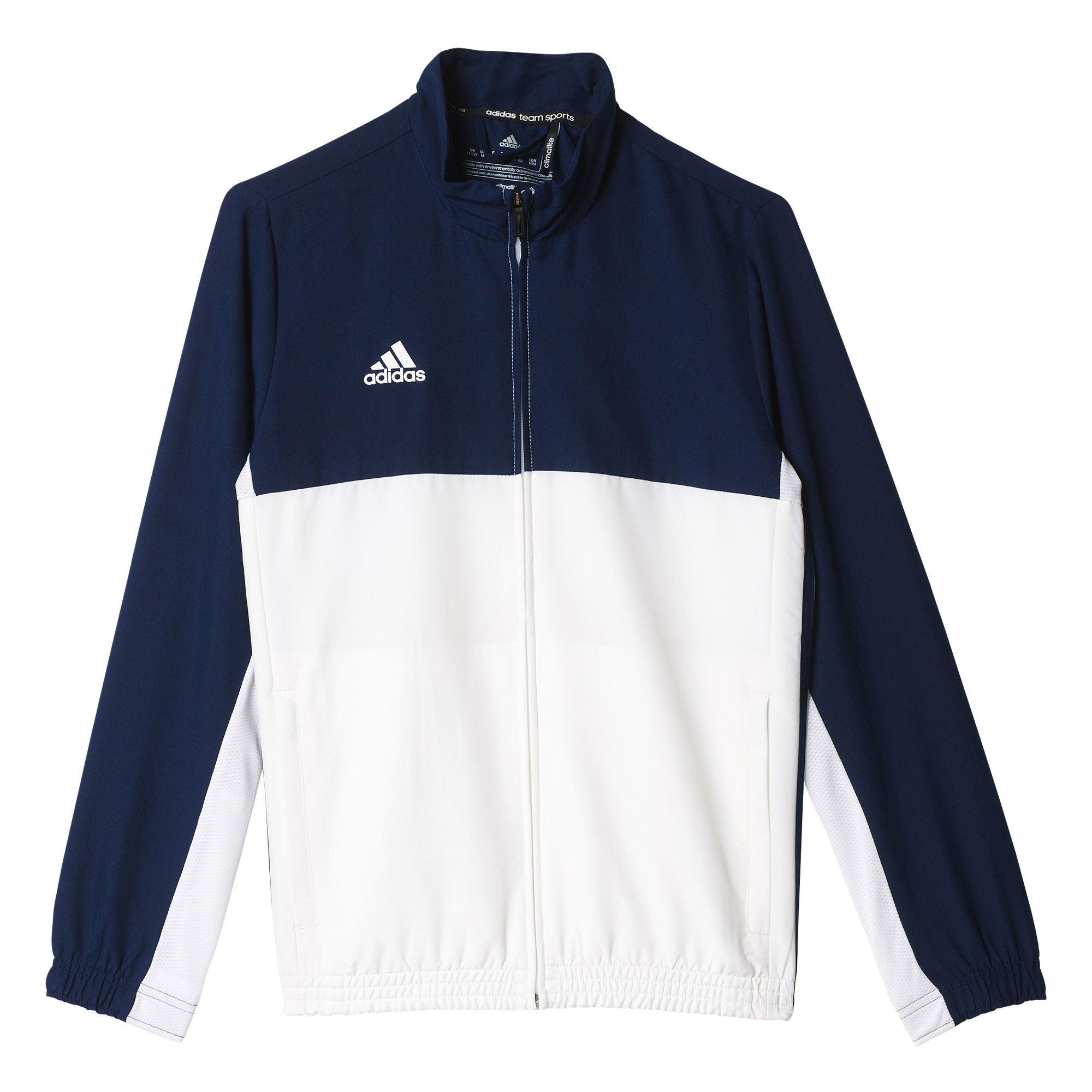 Kaufen Adidas T16 Team Jacket Y Trainingsjacke, Navy | Jollyroom