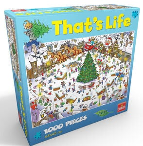 Goliath Games Puzzle That's Life – Christmas 1000 Teile