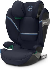 Cybex Solution S i-Fix Kindersitz, Navy Blue