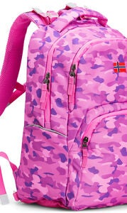 Pure Norway Free Waterproof Rucksack, Camouflage Rosa