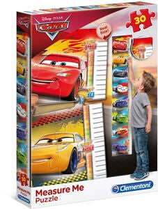 Disney Cars 3 Puzzle Messstab