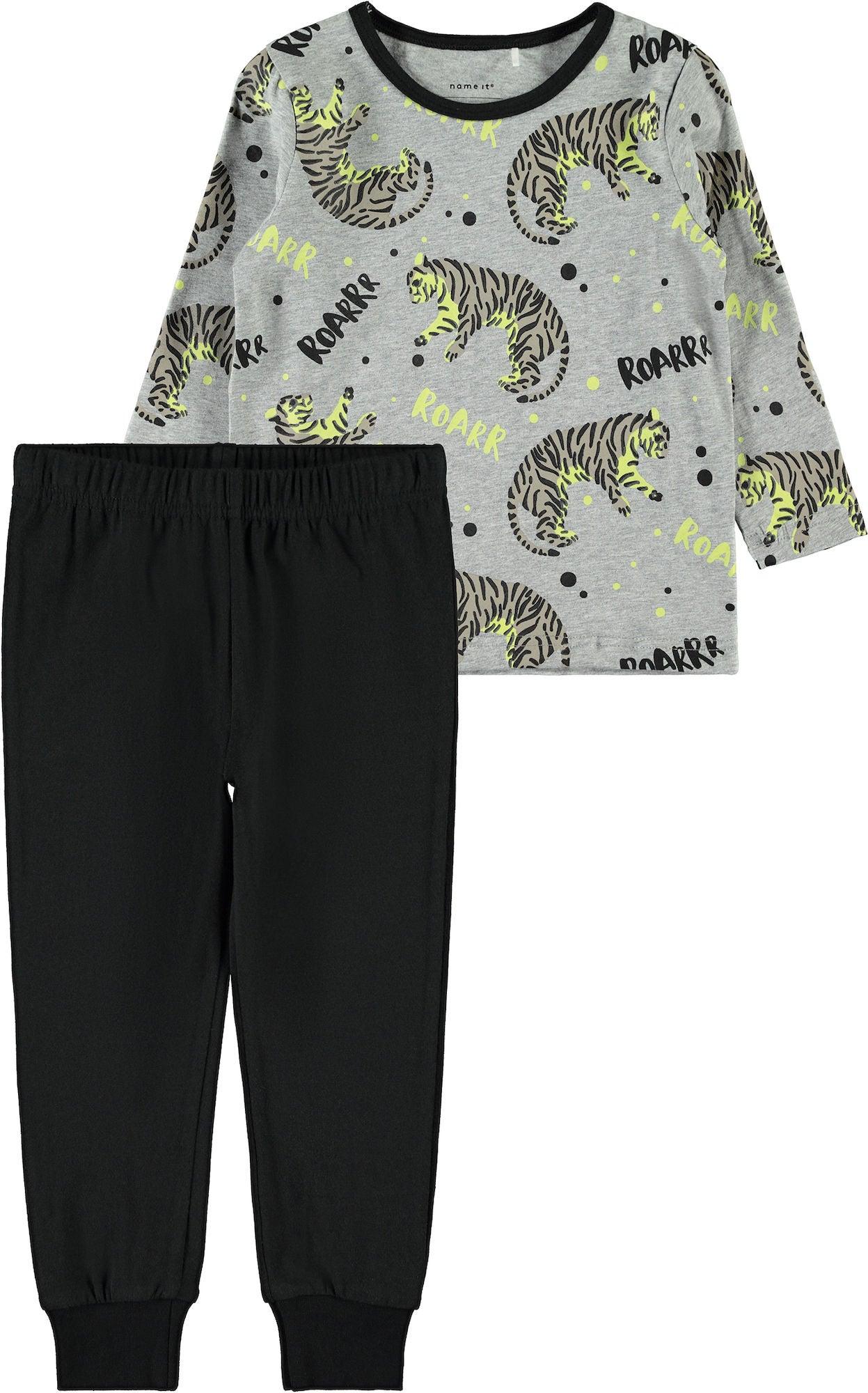 letzter Rabatt besserer Preis für Top Marken Kaufen Name it Schlafanzug, Grey Melange | Jollyroom