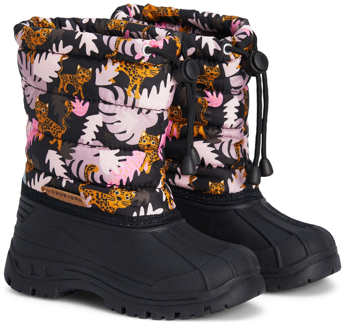 Nordbjørn Frosty Winterstiefel, Djungle Pink
