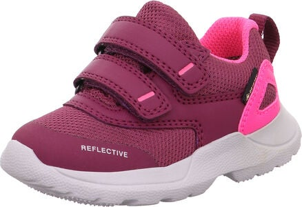 Superfit Rush GTX Sneakers, Red/Pink