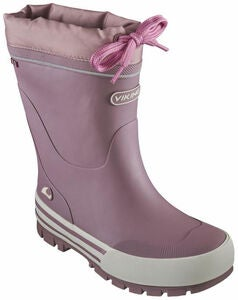 Viking Jolly Thermo Gefütterter Gummistiefel, Dusty Pink