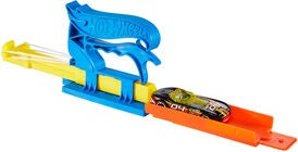 Hot Wheels Spielset Pocket Launcher + Auto, Blau
