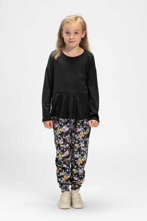 Luca & Lola Maria Top, Black
