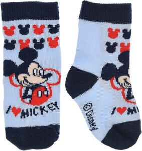 Disney Micky Maus Socken, Light Blue