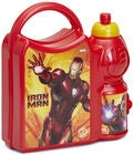 Marvel Avengers Iron Man Combo Brotzeit-Set