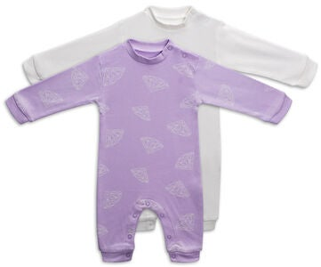Tiny Treasure Maxime Overall 2er-Pack, Orchid Bloom