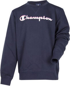 Champion Kids Crewneck Sweatshirt, Sky Captain Blue