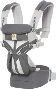 Ergobaby Omni 360 Cool Air Babytrage, Carbon Grey