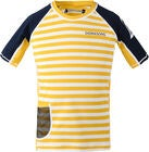 Didriksons Surf UV T-Shirt, Yellow Simple Stripe