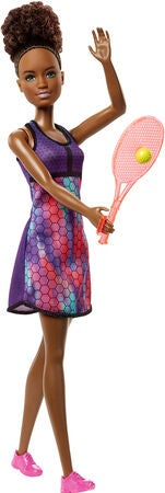Barbie Puppe Tennisspielerin