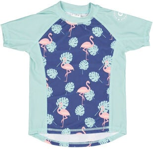 Geggamoja UV-Shirt UV50+, Flamingo