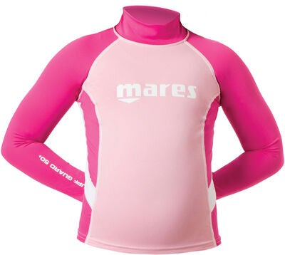 Mares Rash Guard UV-Shirt, Rosa