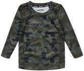 Hyperfied Long Sleeve Logo T-Shirt, Camo