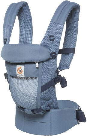Ergobaby Adapt Cool Air Mesh Babytrage, Oxford Blue