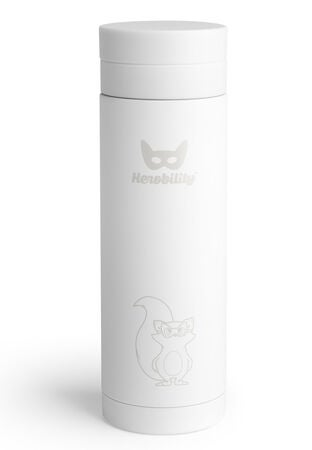 Herobility Insulated Bottle 300 ml, Weiß