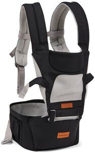 Beemoo Carry Comfort Air Babytrage, Black